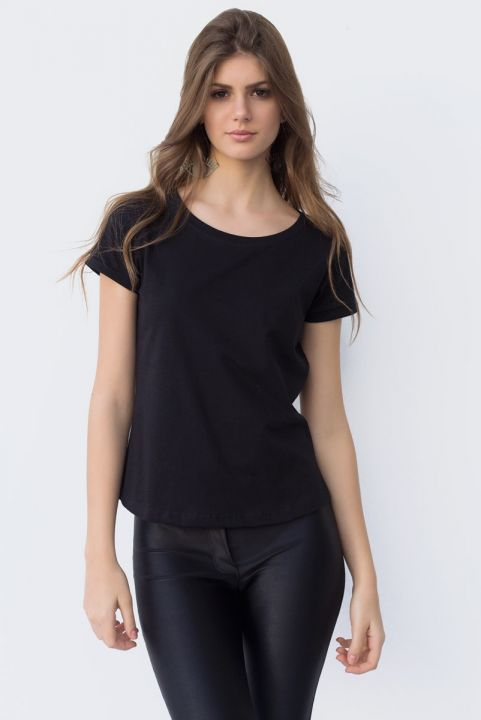 T-shirt Baby Look Basic BLK