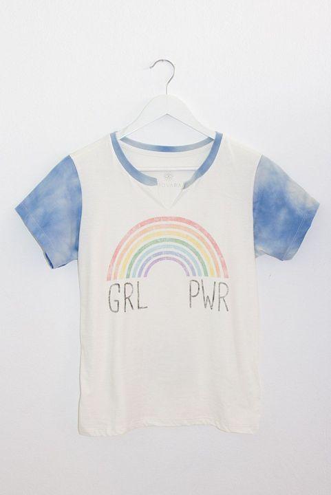T-shirt Baby Look GRL PWR