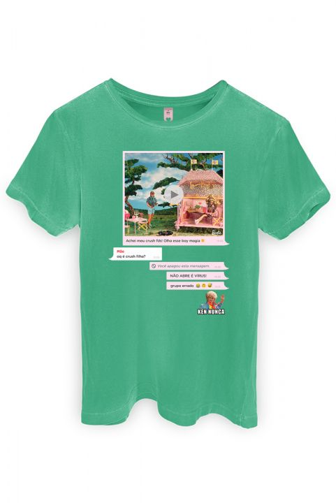 T-shirt Barbie Chat
