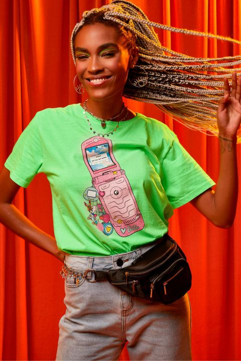 T-shirt Barbie Phone