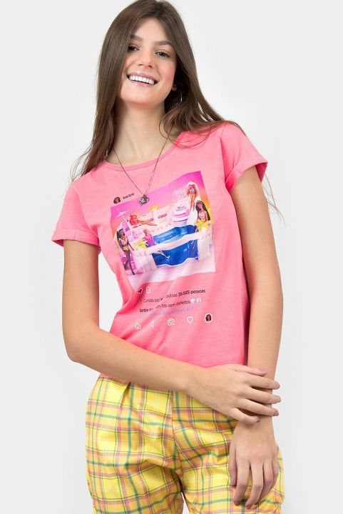 T-shirt Barbie Piscininha