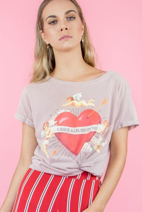 T-shirt Cupido - I have a crush on you