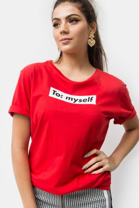 T-shirt From: Me / To: Myself
