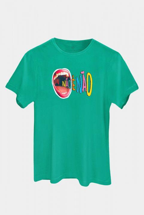 T-shirt Grito Não É Não
