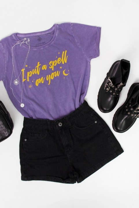 Camiseta Babylook I Put A Spell On You