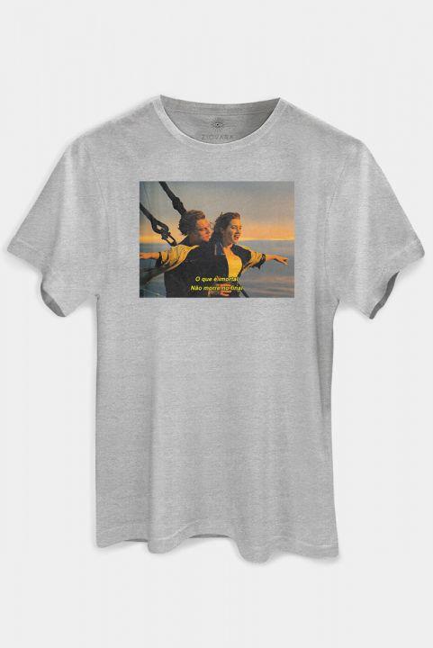 T-shirt Mescla Titanic Imortal