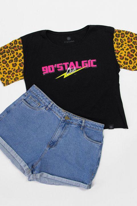 T-shirt Neon 90s Nostalgic