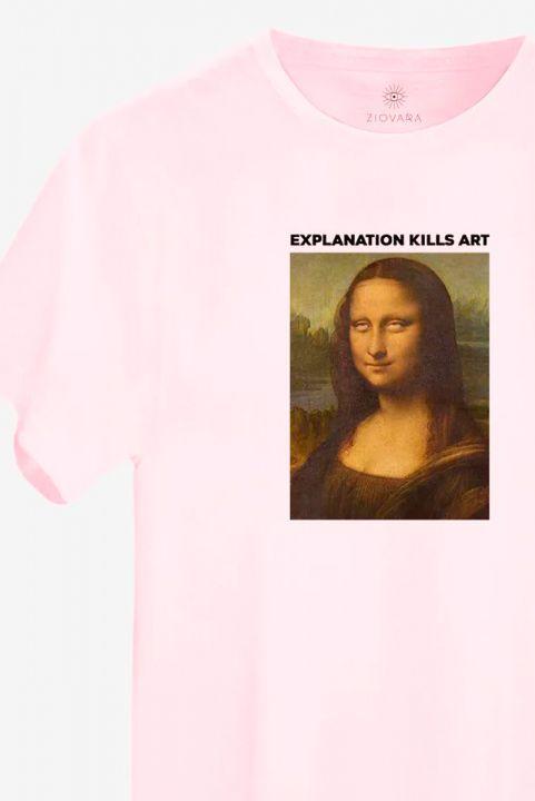 T-shirt NEW! Monalisa Roll Eyes