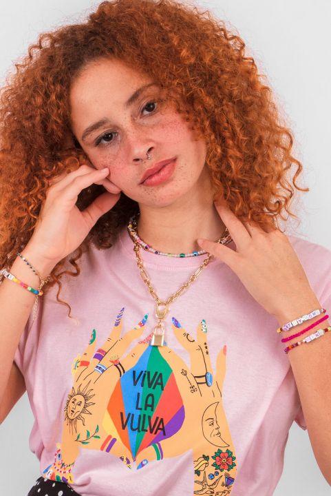 T-shirt NEW! Viva La Vulva