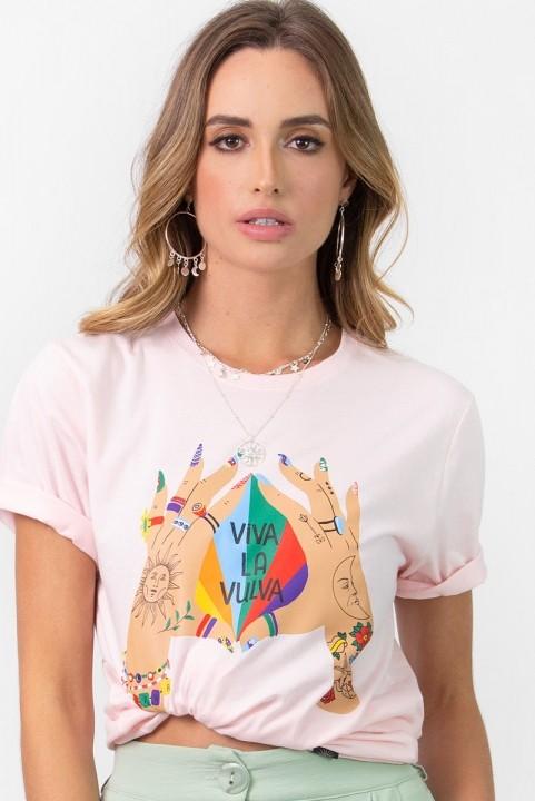 T-shirt Viva La Vulva