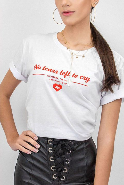 T-shirt No Tears Left to Cry
