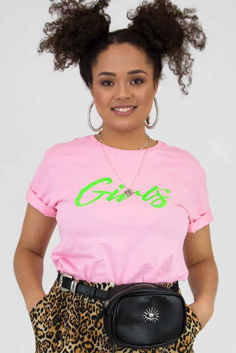 T-shirt Pink Neon GIRLS