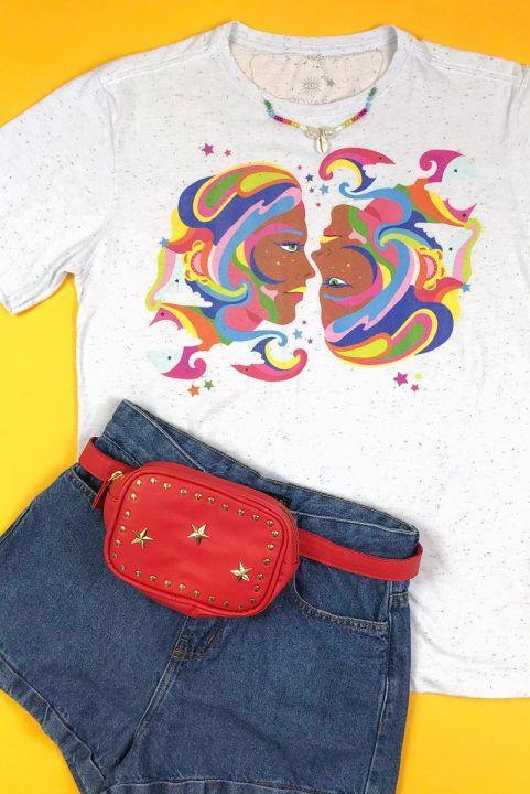 T-shirt PLUS 70s Dona De Mim