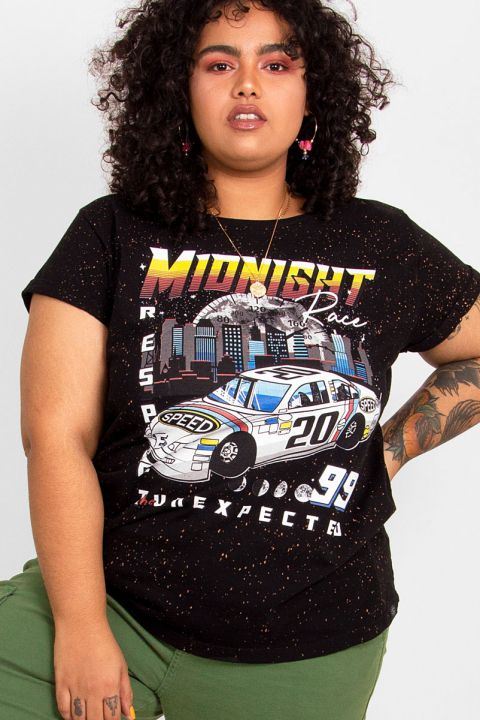 T-shirt PLUS Carro Midnight