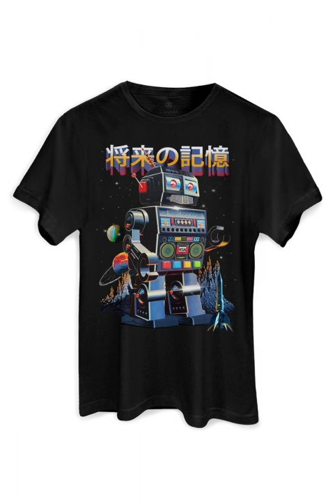 T-shirt PLUS Future Memory ROBÔ