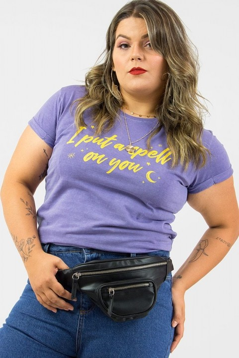Camiseta Babylook PLUS I Put A Spell On You