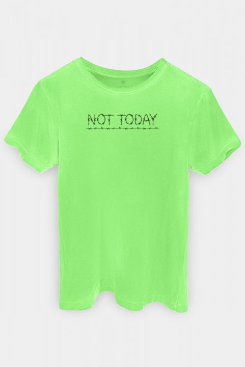 T-shirt PLUS Lime Not Today