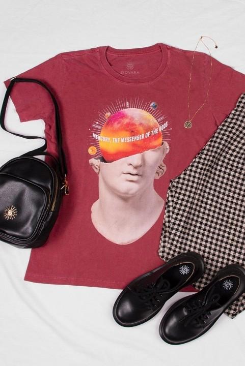 Camiseta T-shirt PLUS Mercurio Estátua
