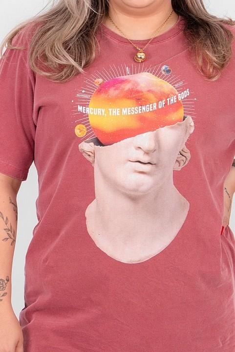 T-shirt PLUS Mercurio Estátua