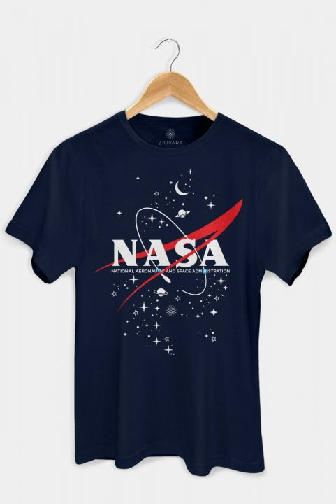 T-shirt PLUS Nasa Navy