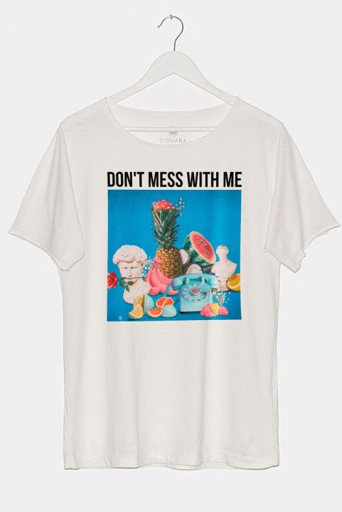 T-shirt PLUS Off-White MESS