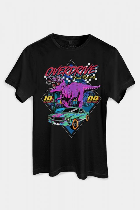 T-shirt PLUS Overdrive Dinossauro