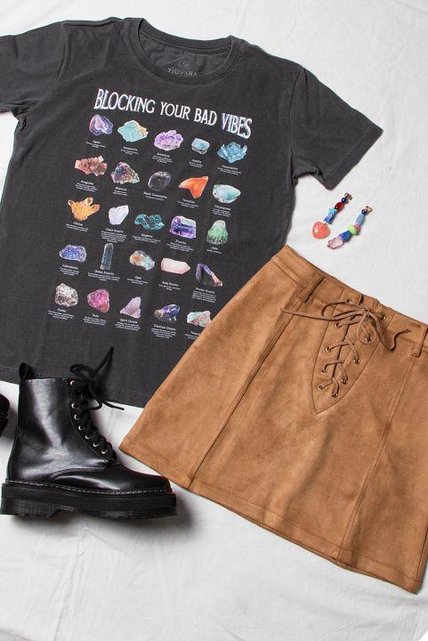 T-shirt PLUS Pedras Gemstones Vibes