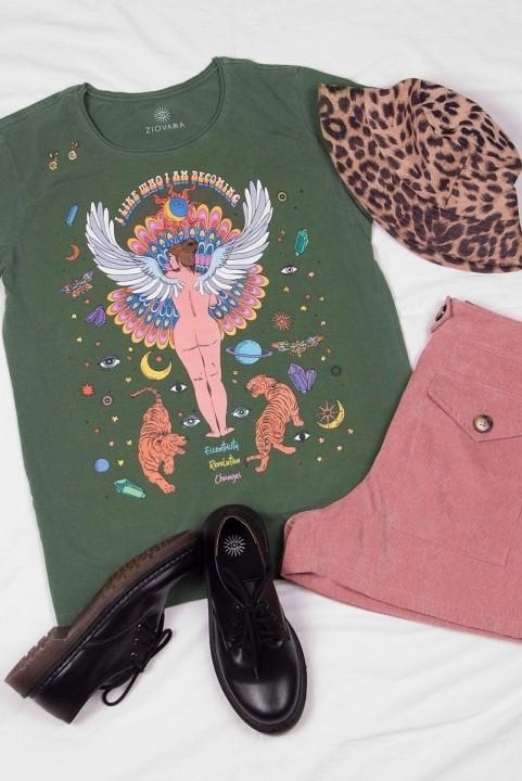 Camiseta T-shirt PLUS Urano Asas