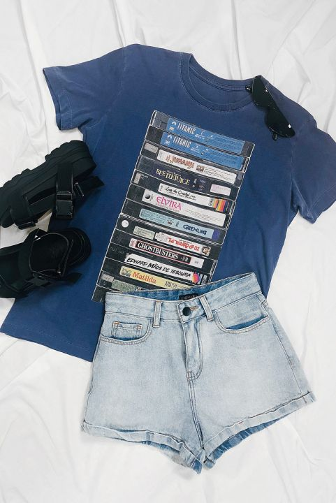 T-shirt PLUS Vhs Sessão Da Tarde