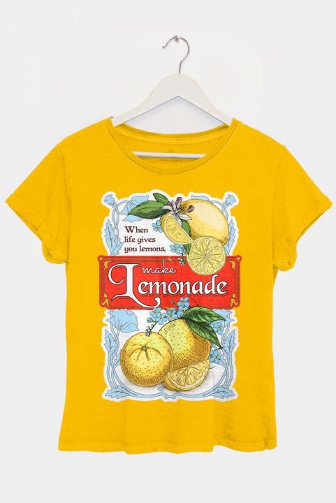 T-shirt PLUS Vintage Lemonade