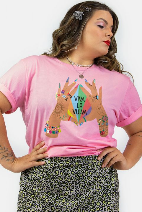 T-shirt PLUS Viva La Vulva