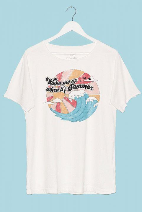 T-shirt PLUS Wake Me Up When It's Summer + BRINCO GRÁTIS