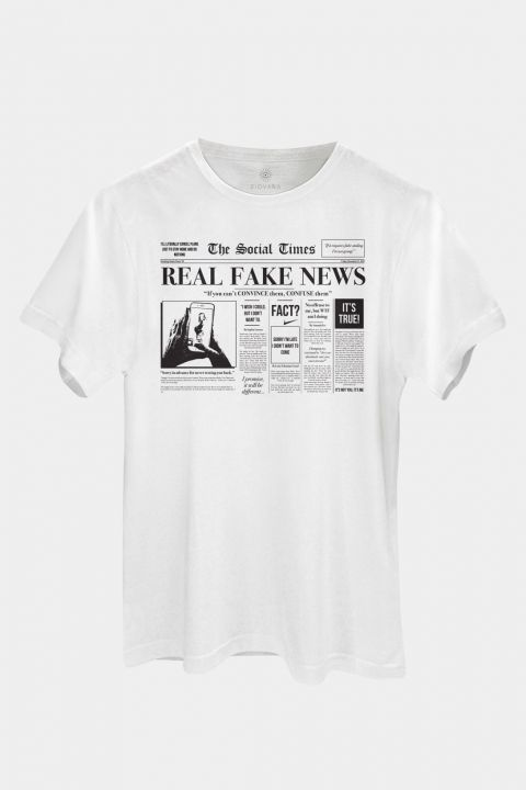 T-shirt Real Fake News