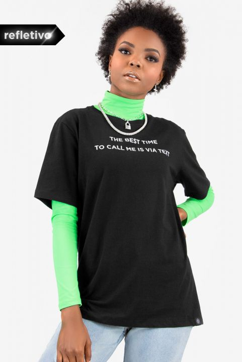 20ed3cd9f T-shirt Reflec Via Text