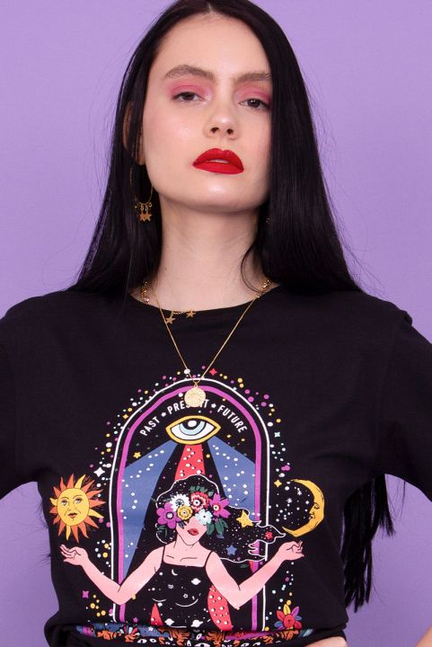 T-shirt TAROT Femme Intuition