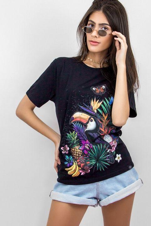 T-shirt Tropicalia Tucano