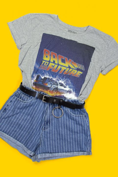 T-shirt Uni Back To The Future
