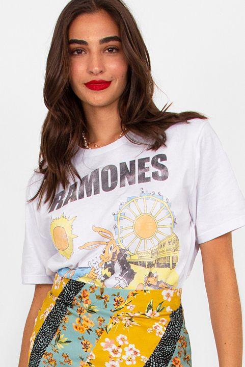 T-shirt Uni Rockaway Beach Ramones