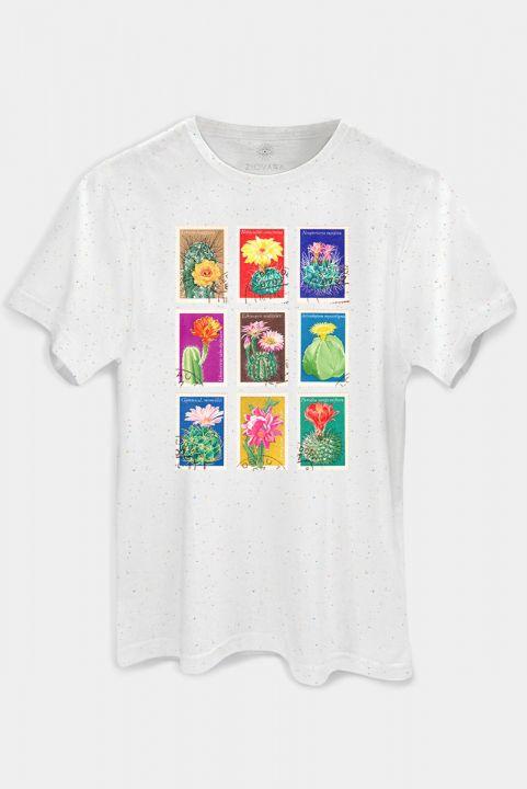 T-shirt Vintage Selo Cactus