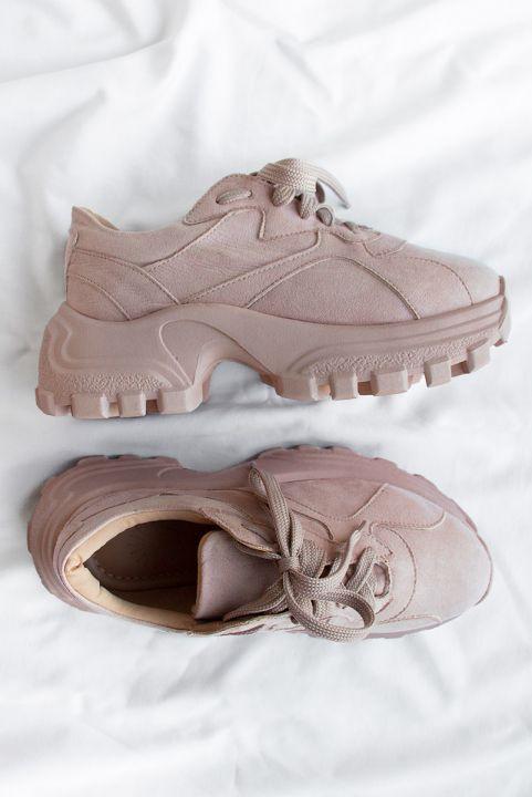 Tenis Dad Sneaker Rosa Pepa