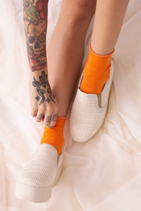 Tenis Slip On Macrame Off White
