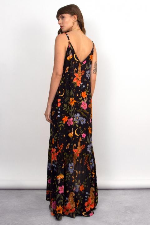 Vestido Longo Floral Luau