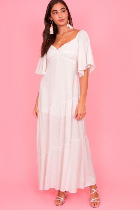 Vestido Longo Leblon - Branco