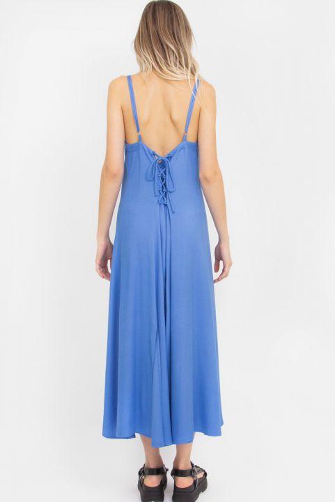 Vestido Midi Blue Gardenia