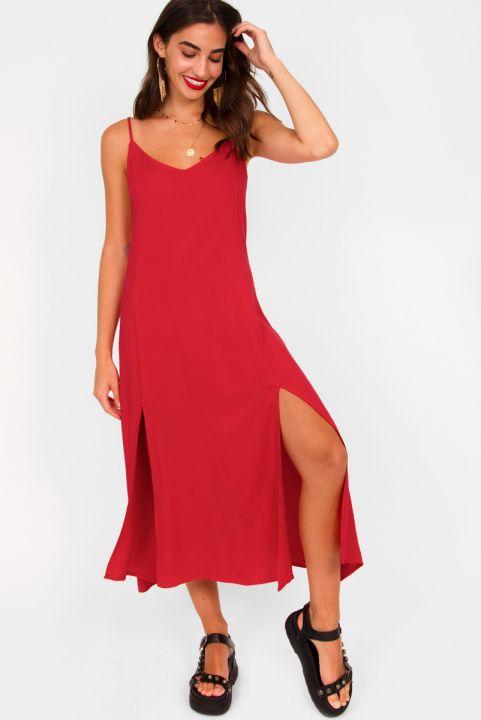 Vestido Midi Cherry