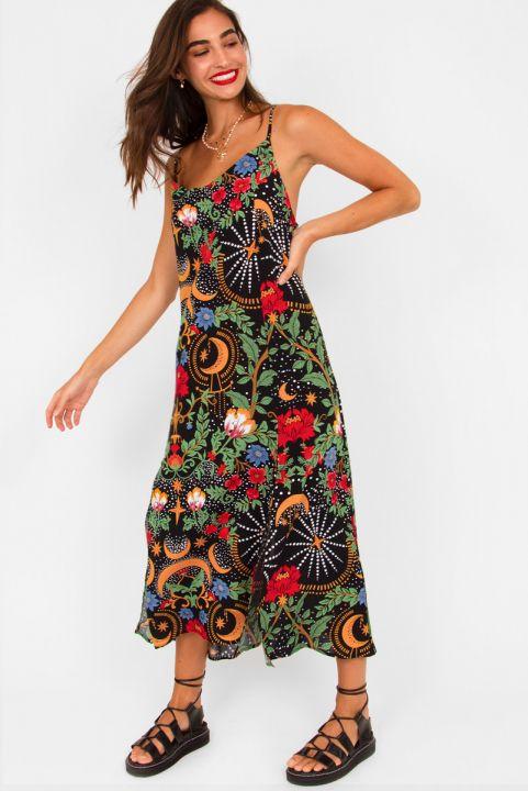 Vestido Midi Mystic Floral