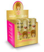 CAIXA GOLDEN MASK - PEEL OFF Raavi| 50 UN.
