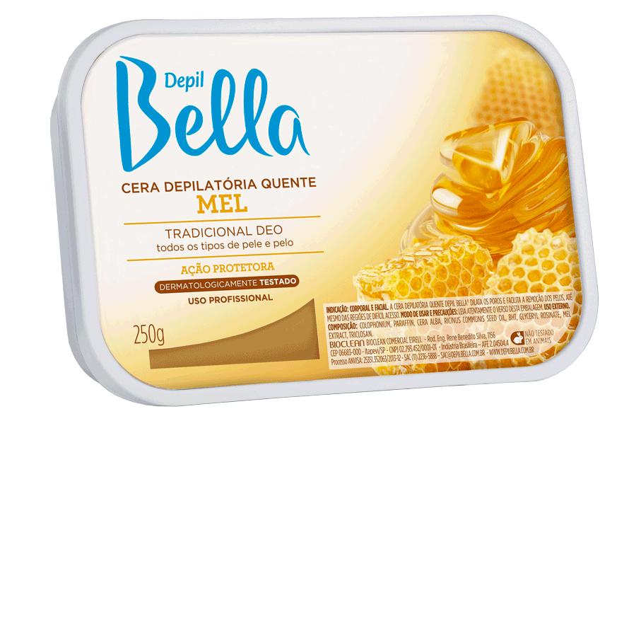 Cera Quente em Barra Depil Bella Mel Deo 250 g