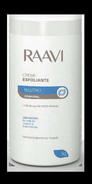 Creme Esfoliante Neutro Raavi 1kg