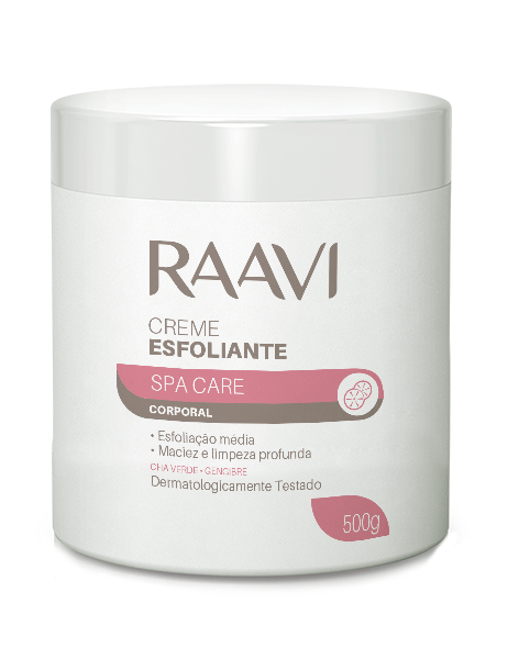 Creme Esfoliante Spa Care Raavi 500 g